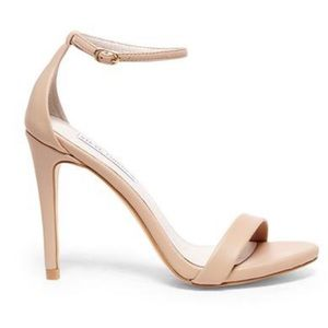 Stecy Natural Nude sandal stiletto